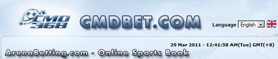 Online Sports Book CMDBET mirip SBOBET dan IBCBET