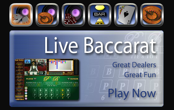 Live Casino, Live Baccarat, Live Roulette, Sicbo, Keno with great dealers and fun